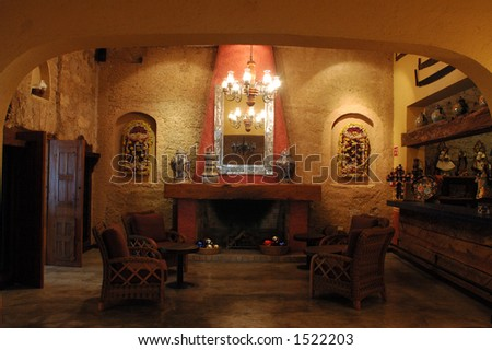 mexico restaurant lobby