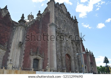 Mexico's Metropolitan Cathedral #1211299690
