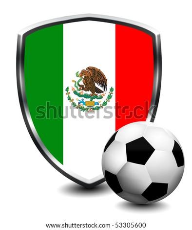 MEXICO shield soccer