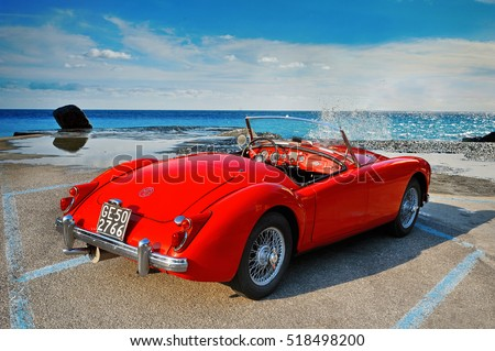 mga 1500 roadster  1960 iconic...