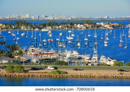 Miami day,Florida , USA.