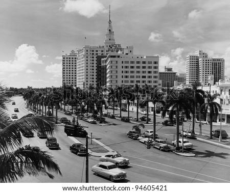 Miami, Florida, circa 1951