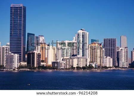 Miami, Florida, USA - seen in the morning