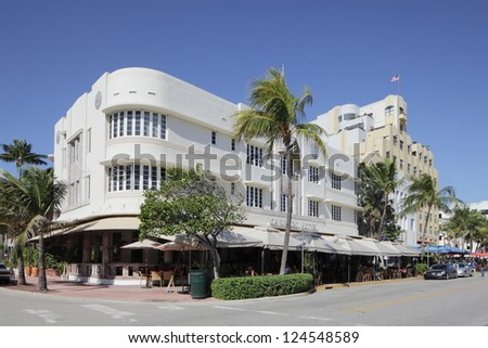 MIAMI - JANUARY 12: The Cordozo hotel is Owned by International Superstar Gloria Estefan and her Grammy Award winning producer-husband, Emilio January 12, 2013 in Miami, Florida.