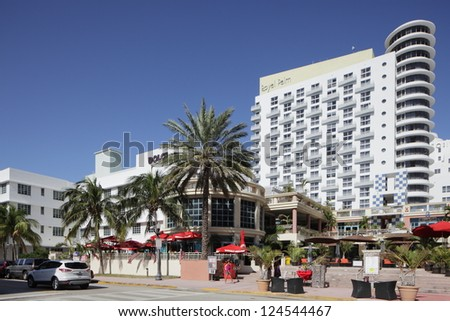 MIAMI - JANUARY 12: The Royal Palm Hotel was Featured as one of Forbes Magazines Top 10 Most Anticipated Openings of 2012 January 12, 2013 in Miami, Florida.