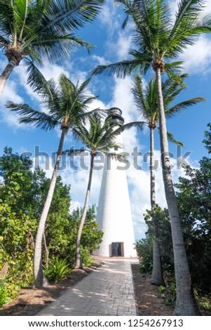 Miami Key Biscayne Cape florida lighthouse - United States