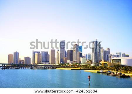 Miami skyline, Florida