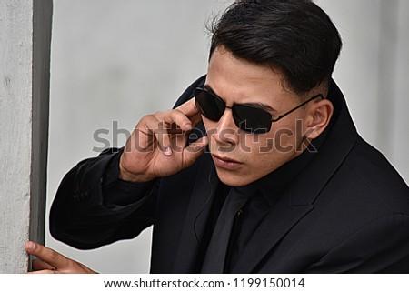 Mib Men In Black Spy Or Undercover Agent