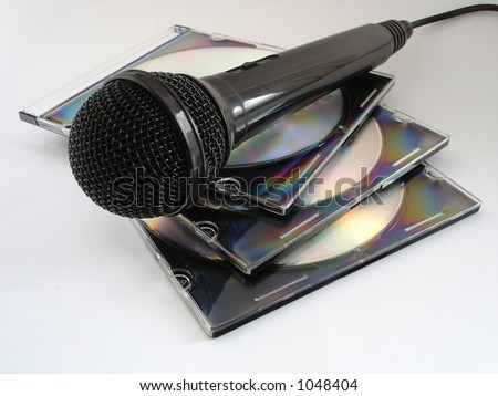 mic and CDs