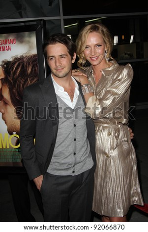 "Michael Angarano and Uma Thurman  at the ""Ceremony"" Los Angeles Premiere, Arclight, Hollywood, CA. 03-22-11"