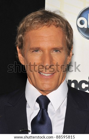 Michael Bolton at the Season 11 premiere of ABC's Dancing With The Stars at CBS Television City, Los Angeles. September 20, 2010  Los Angeles, CA Picture: Paul Smith / Featureflash
