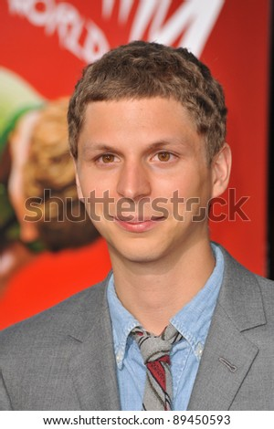 """Michael Cera at the world premiere of his new movie """"Scott Pilgrim vs. The World"""" at Grauman's Chinese Theatre, Hollywood. July 27, 2010  Los Angeles, CA Picture: Paul Smith / Featureflash"""