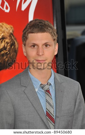 "Michael Cera at the world premiere of his new movie ""Scott Pilgrim vs. The World"" at Grauman's Chinese Theatre, Hollywood. July 27, 2010  Los Angeles, CA Picture: Paul Smith / Featureflash"