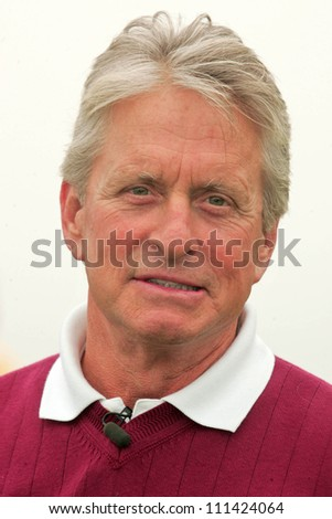 Michael Douglas at The 9th Annual Michael Douglas and Friends Celebrity Golf Event. Trump National Golf Club, Rancho Palos Verdes, CA. 04-29-07