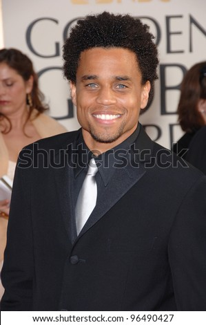 MICHAEL EALY at the 63rd Annual Golden Globe Awards at the Beverly Hilton Hotel. January 16, 2006  Beverly Hills, CA  2006 Paul Smith / Featureflash