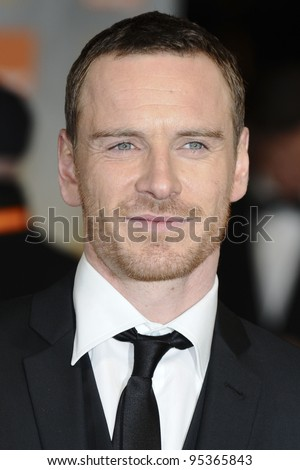 Michael Fassbender arriving for the BAFTA Film Awards 2012 at the Royal Opera House, Covent Garden, London. 12/02/2012  Picture by: Steve Vas / Featureflash