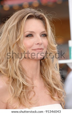 "Michelle Pfeiffer at the Los Angeles premiere of ""Hairspray"" at the Mann Village Theatre, Westwood. July 11, 2007  Los Angeles, CA Picture: Paul Smith / Featureflash"