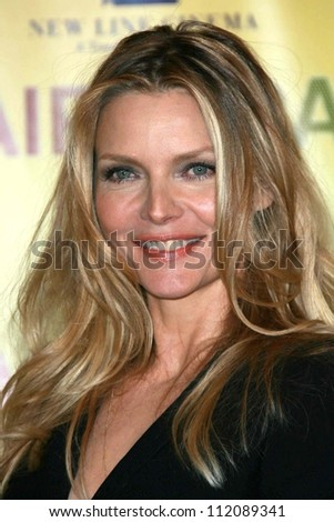 "Michelle Pfeiffer at the ShoWest 2007 Photocall for ""Hairspray. Paris Hotel, Las Vegas, NV. 03-14-07"