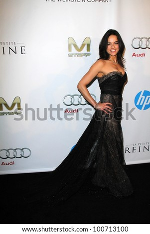 Michelle Rodriguez at the Weinstein Company Post Oscar Event, Skybar, West Hollywood, CA 02-26-12