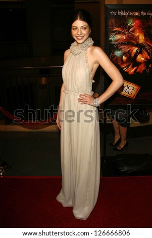 """Michelle Trachtenberg at the Los Angeles Premiere of """"Black Christmas"""". Mann's Chinese 6, Hollywood, CA. December 19, 2006."""