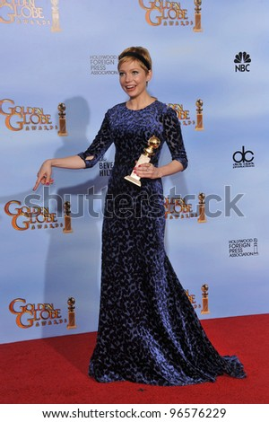 Michelle Williams at the 69th Golden Globe Awards at the Beverly Hilton Hotel. January 15, 2012  Beverly Hills, CA Picture: Paul Smith / Featureflash