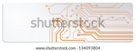 microchip circuit web banners. jpg version