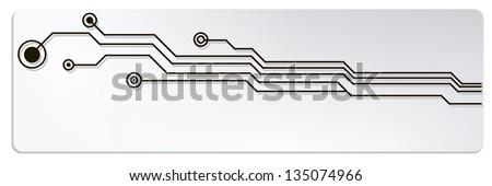 microchip circuit web banners. jpg version