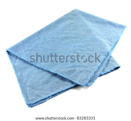 Microfiber cloth for housework or car cleaning