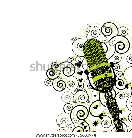 Microphone Flyer