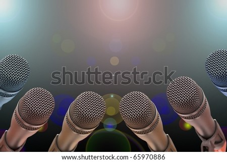Microphone - night show