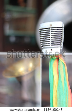 Microphone not music for song #1159150345