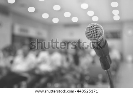 microphone on Conference room