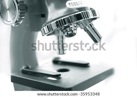microscope lens monochrome