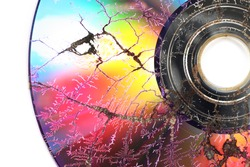 Microwaved CD-ROM