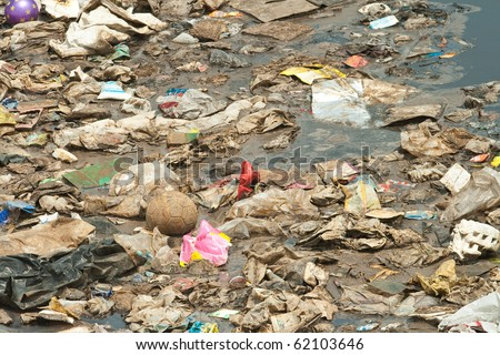 Midden, Wastewater, Garbage, Pollution, Bad Life