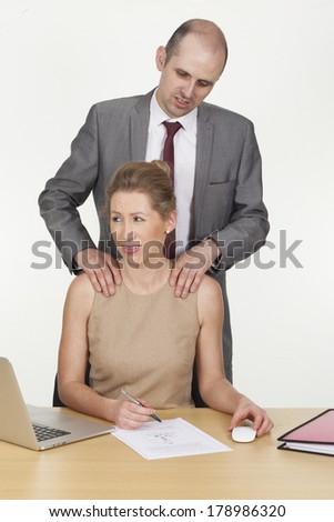Getting groped at work - YouTube