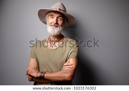 1a806c356b7 Free photos Portrait of an Old Man With A Beard Smiling To Camera ...