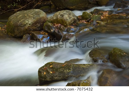 Middle Saluda River in the South Carolina Mountains.