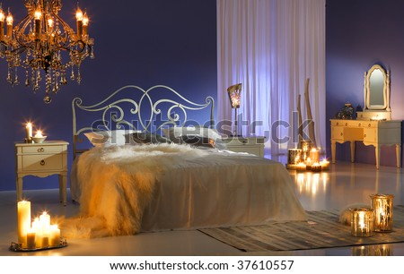 midnight bedroom