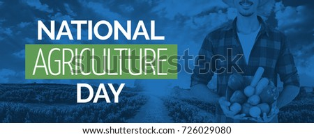 Midsection of farmer Concept Image for National Agriculture Day