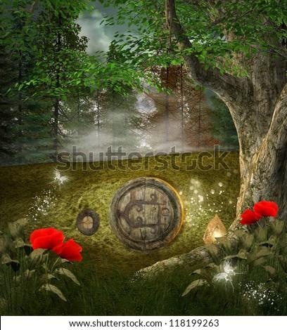 Midsummer night's dream series - secret elves house