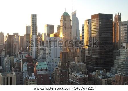 Midtown Manhattan, New York at Sunset #145967225