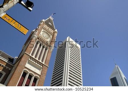 Midtown Perth in Australia at Hay Street