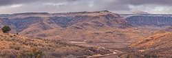 Mighty Mountains of West Texas - Wild Rose Pass Towering Cliffs Davis Mountains Fort Davis