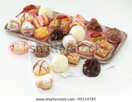 Mignon pastries