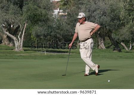 Miguel Angel Jimenez, Golf Open de andalucia, Marbella, Spain, Aloha course, european tour 2007
