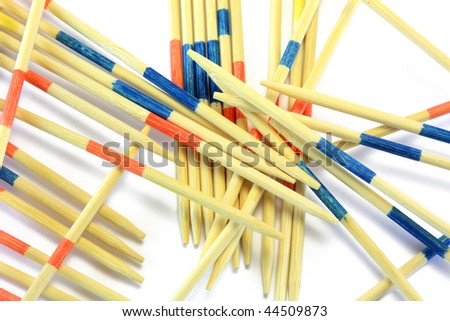 mikado game - stock photo