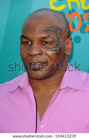Mike Tyson  at the Teen Choice Awards 2009. Gibson Amphitheatre, Universal City, CA. 08-09-09