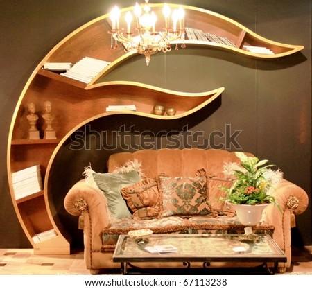 Milan april 15 interior design solution at salone del mobile international furnishing for International interior design exhibition