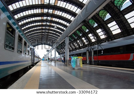 Milan Central railway station. Milan Central Station (in Italian, Stazione Centrale di Milano or Milano Centrale) is one of the main European railway stations.